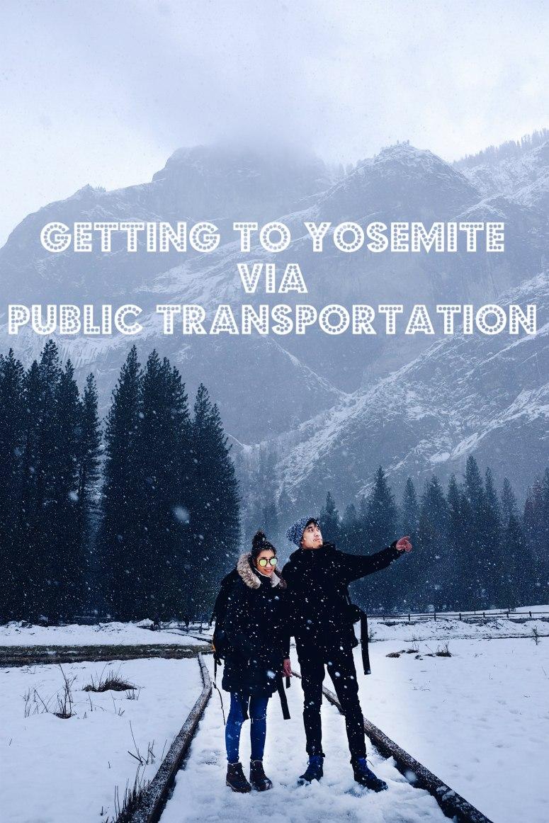Getting to Yosemite via Public Transportation